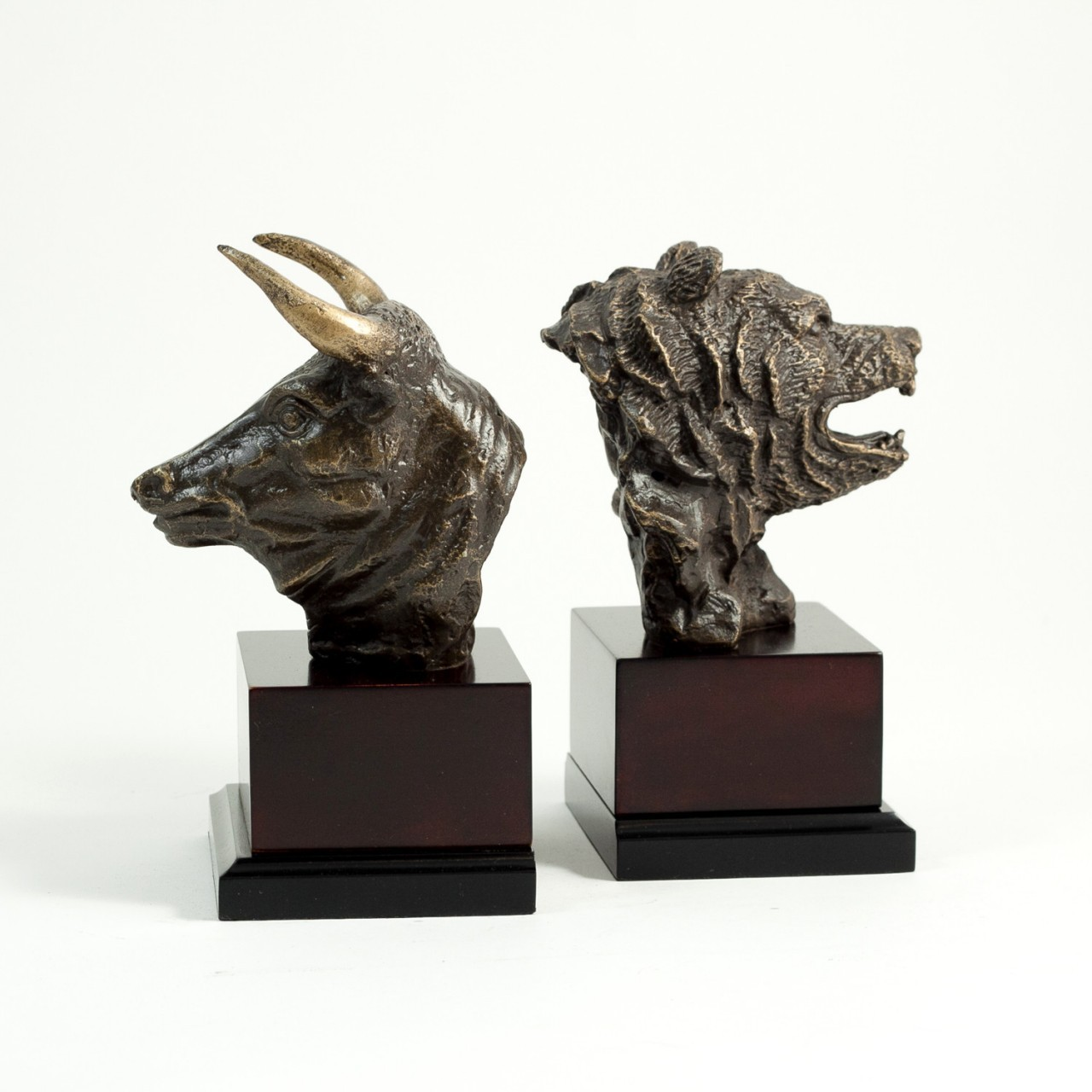 Bull And Bear Gifts Bull And Bear Bronzed Bookends Executive Gift Shoppe