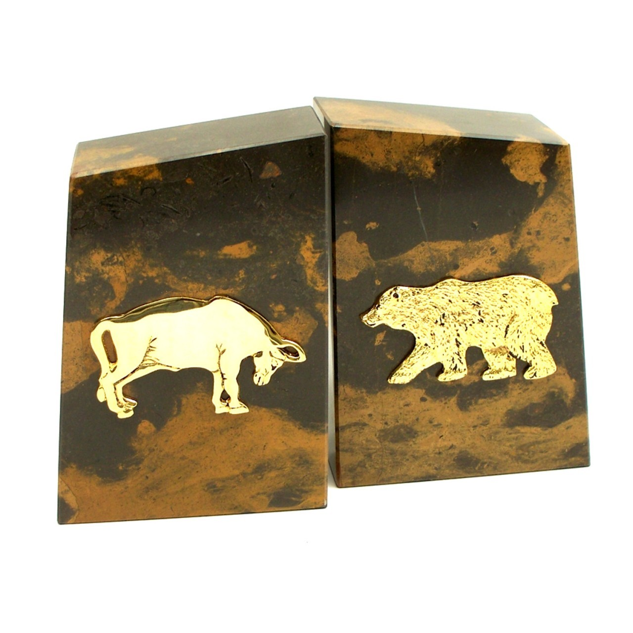 Bull And Bear Gifts Personalized Bull And Bear Bookends Executive Gift Shoppe