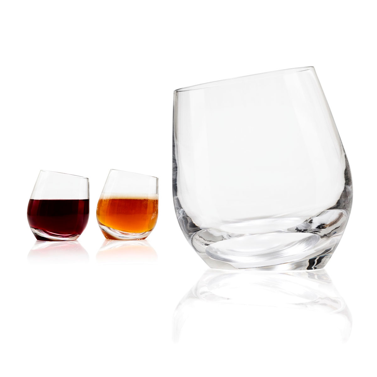 Drinking Glasses Designs Tonfisk Shadow Red Wine Beer Drinking Glass Set Of 2