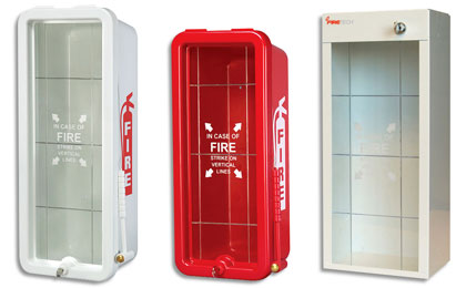 Fire Extinguisher Cabinets Firetech Fire Safety