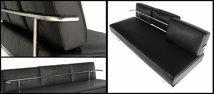 Shop Lc5 Le Corbusier Sofa Bed Chaise Daybed For Only 2395