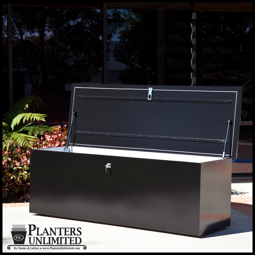 Deck And Dock Boxes For Dry Outdoor Storage Planters