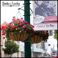 Hanging Basket Brackets, Outdoor Hanging Flower Baskets