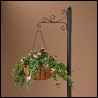 Slip Over Hanging Basket Bracket