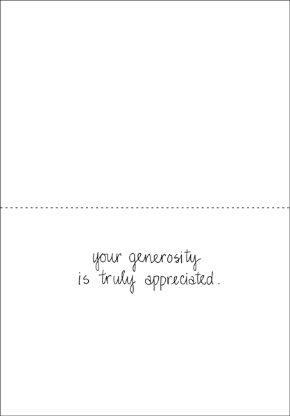 Thank You Notes For Donation Thank You Card Donation Template - Thank You Letters For Donation