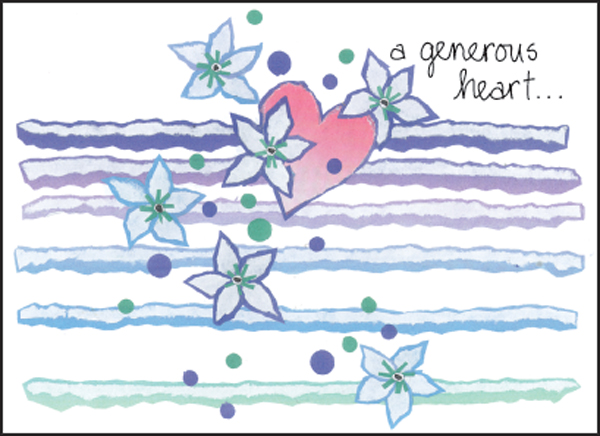 Thank You Card Donation and Charity Thank You Cards Order Thank