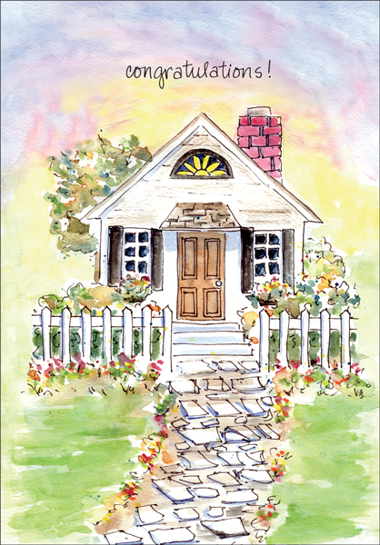 Congratulations on Your New HouseHome Congratulations Cards