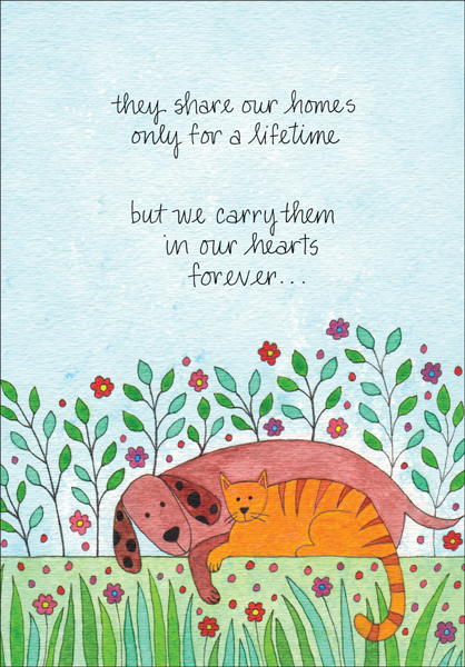 Gentle Pet Sympathy Card