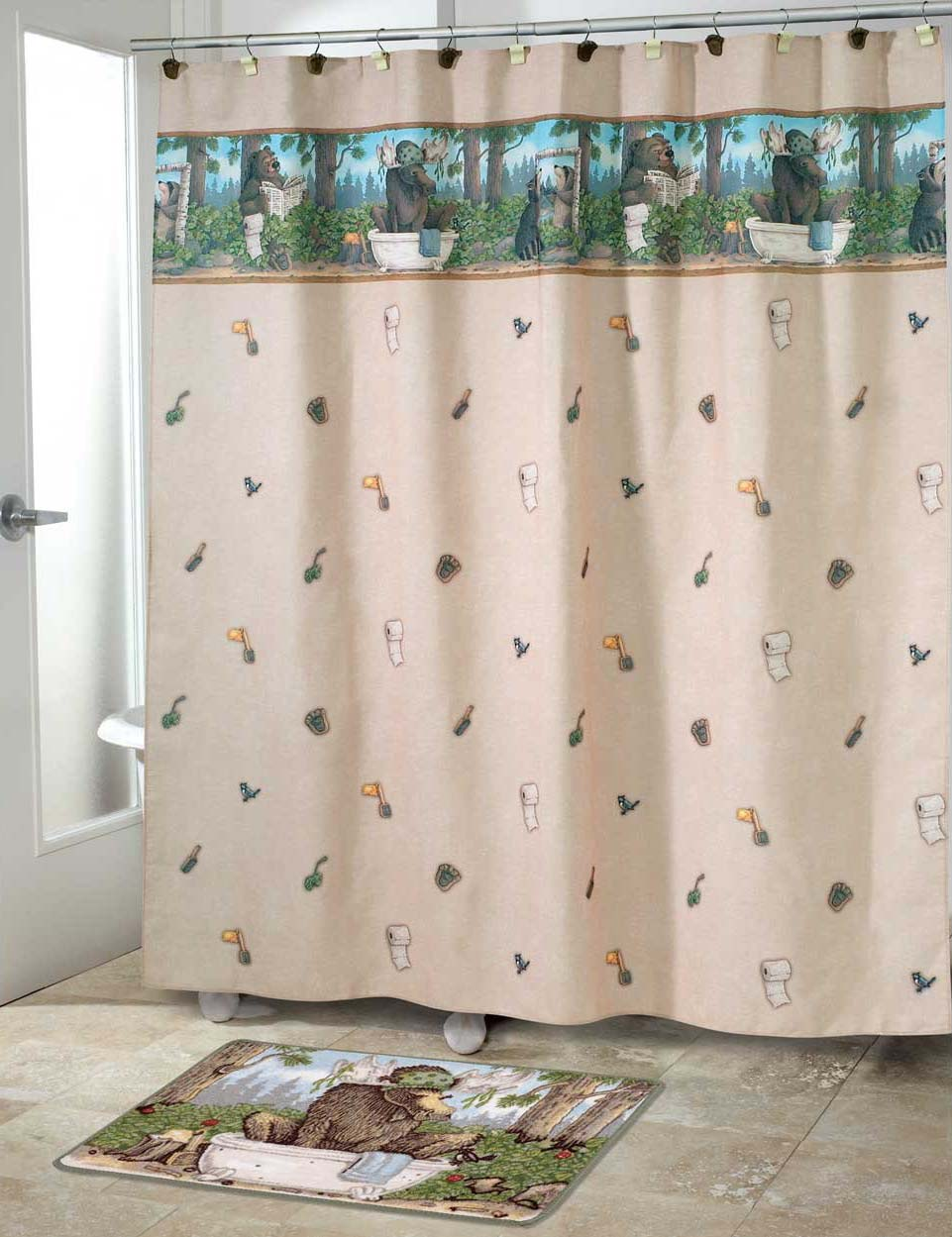 Kokopelli Shower Curtain Avanti Shower Curtains And Accessories