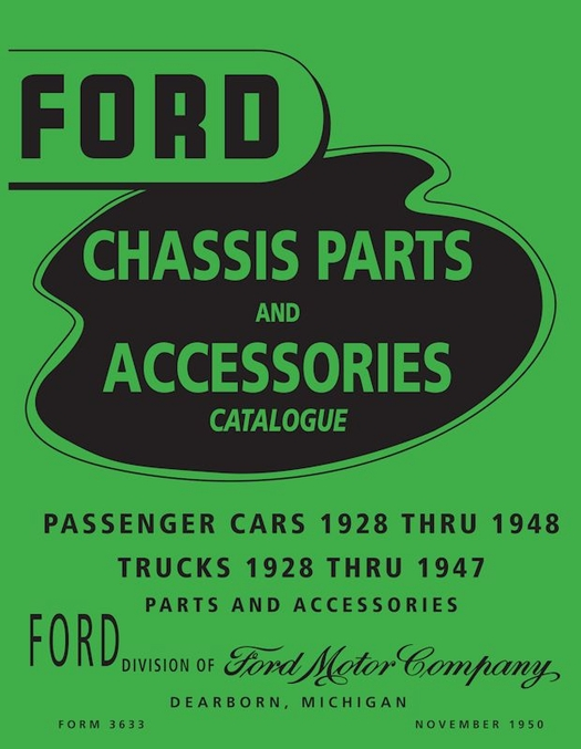 1928-48 Ford Car / 1928-47 Ford Truck Parts Book