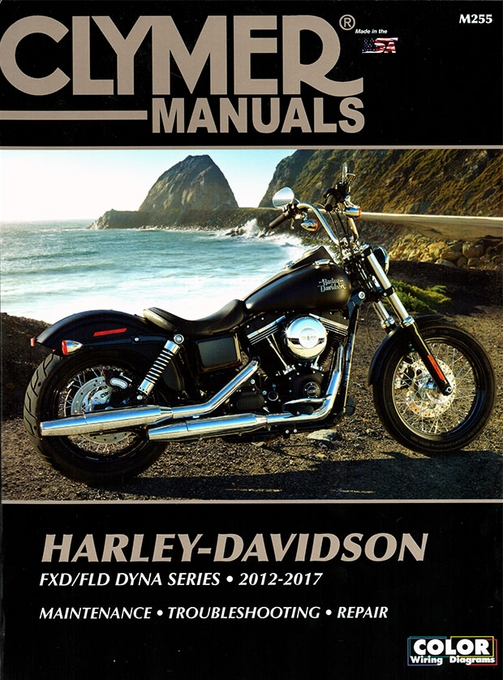 2012-2017 Harley-Davidson FXD/FLD Dyna Series Repair Manual