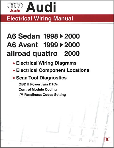 Audi Electrical Wiring Manual A6, Avant, allroad Quattro 1998-2000