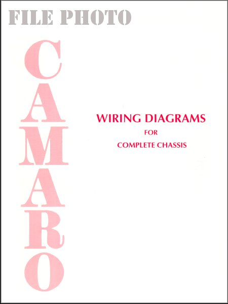 1967-1976 Camaro Wiring Diagrams for Complete Chassis