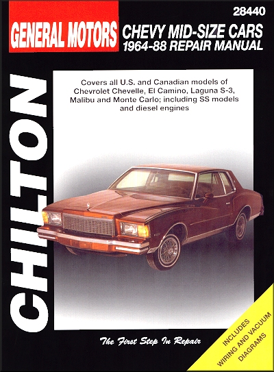 Wiring Diagram For 1964 Chevrolet Chevelle All Models Part 1 Index
