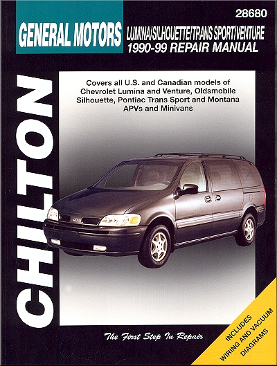 Lumina, Silhouette, Trans Sport Montana Repair Manual 1990-1999
