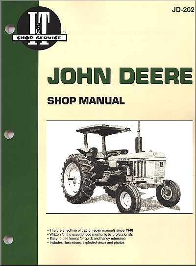John Deere Tractor Repair Manual 2040, 2510, 2520