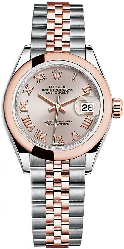 Rolex Oyster Perpetual Rose Gold 279161-sdtrj | Rolex Lady-datejust 28 | Watch