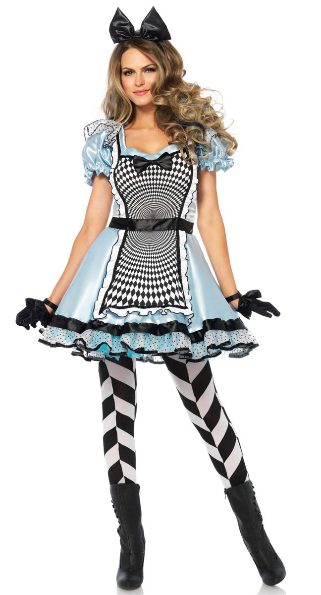 Red Hair Lounge Hypnotic Miss Alice Costume