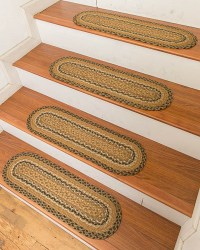 Florida Carpet Stair Treads - Clearance Natural Area Rugs