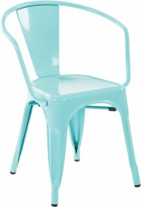 """30"""" Metal Chair In Mint Green 4-Pack [PTR2830A4-16]"""