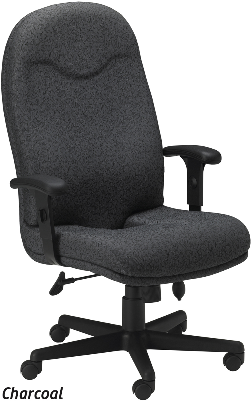 Most Ergonomic Office Chair Mayline Ergonomic Fabric Office Chair 9413ag