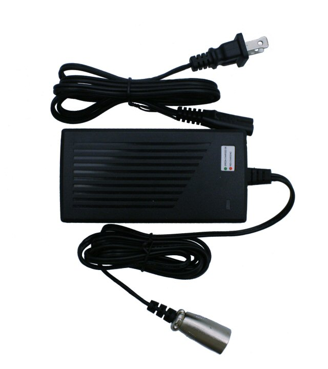 36V, 16Ah 4-Pin XLR Electric Scooter Charger