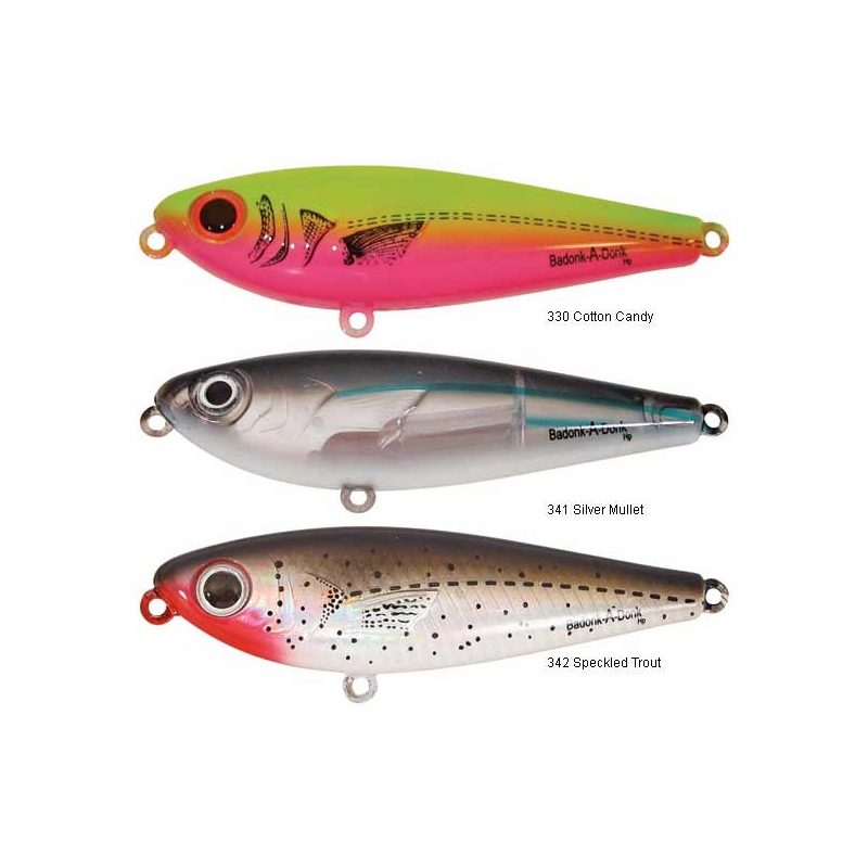 Bomber Badonk-A-Donk Topwater Lures - TackleDirect