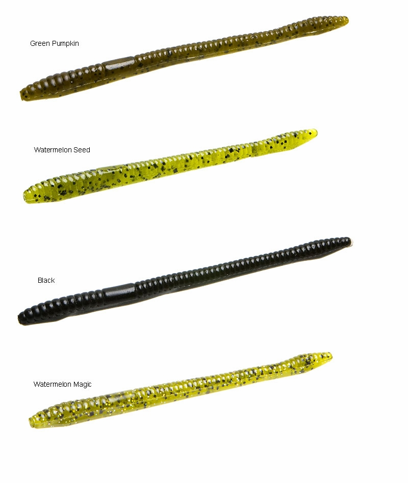 Zoom Finesse Worm Bait 4-1/2in TackleDirect