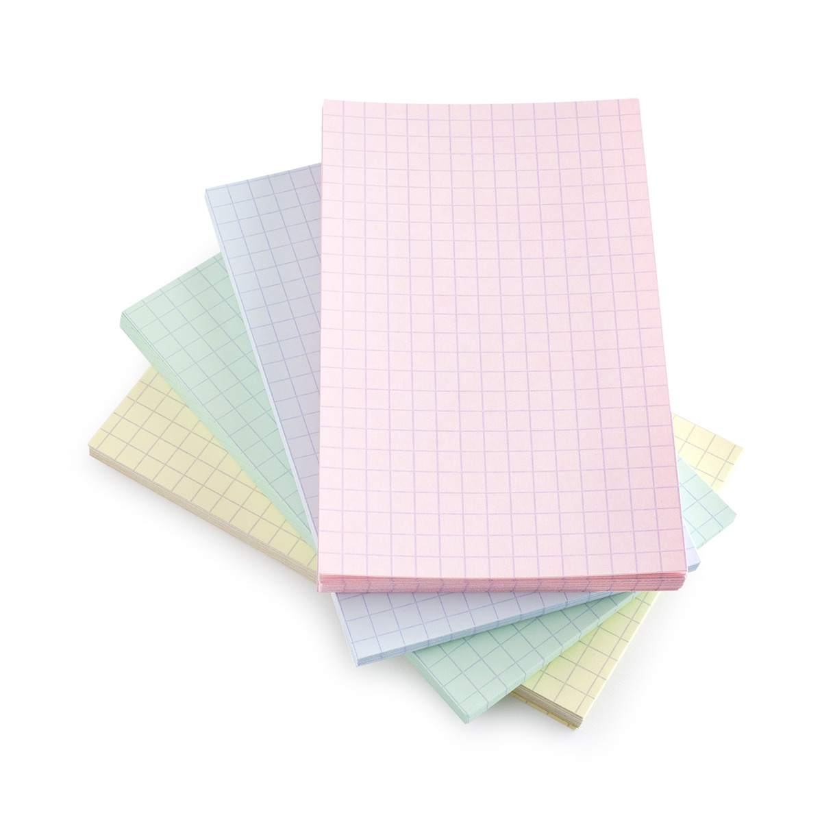 graph paper index cards