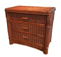 Rattan Chest - 3 Drawer Barbados | Wicker Paradise