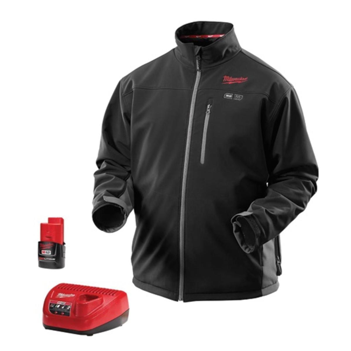 M12 Heated Jacket Milwaukee M12 Toughshell Heated Jacket Kit Black