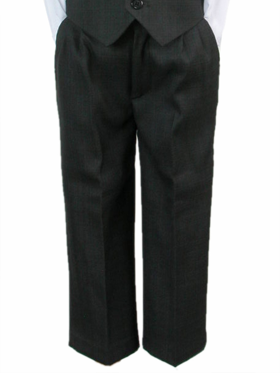 Pants S Xl Boys Dark Gray Dress Pants
