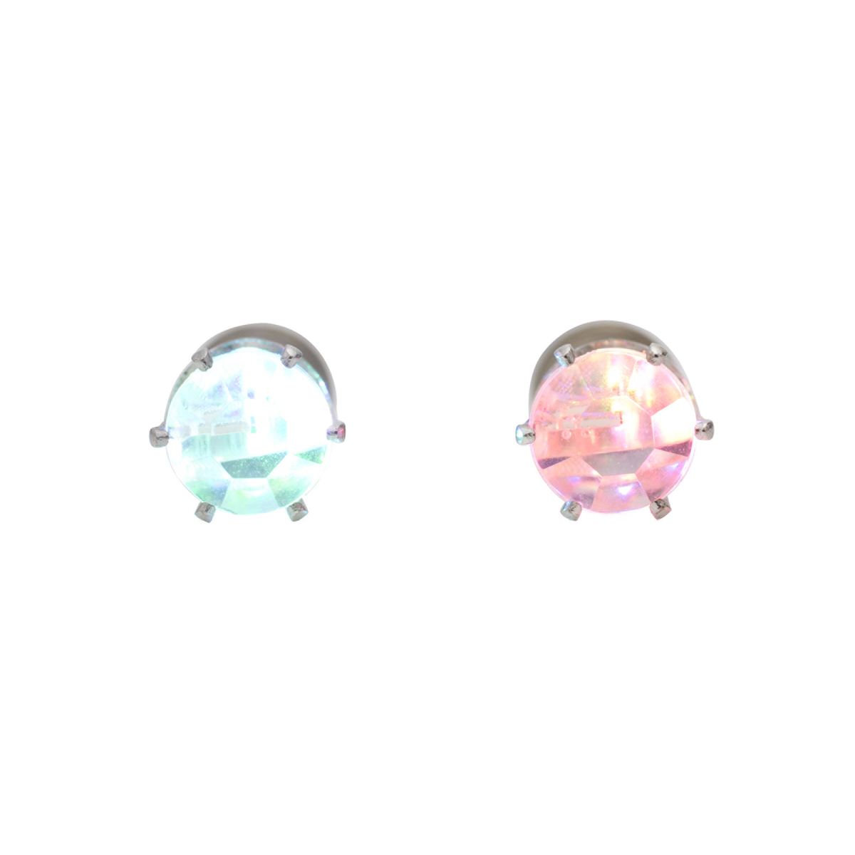 Led Earrings Flashing Earrings Led Multi Color Flash Earrings Night Ice Led