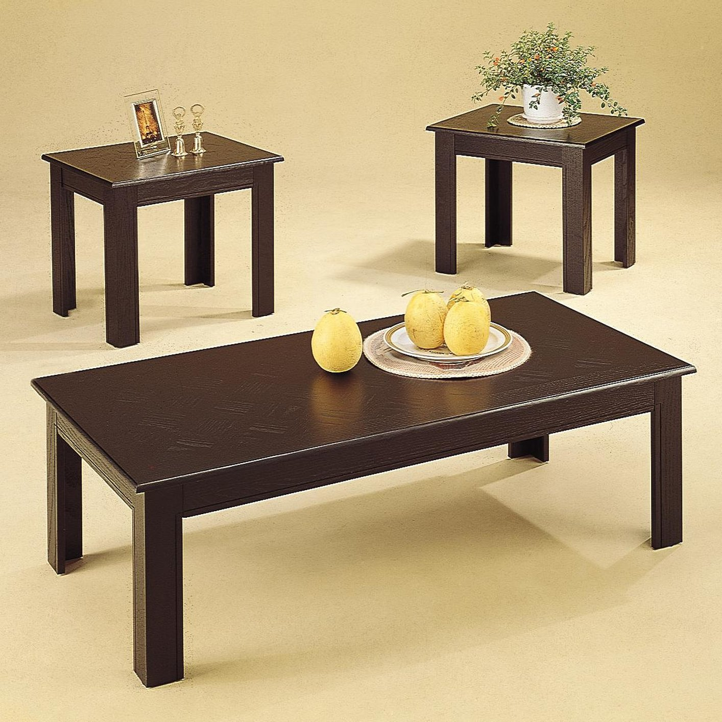Dark Wood And White Coffee Table Black Wood Coffee Table Set Steal A Sofa Furniture