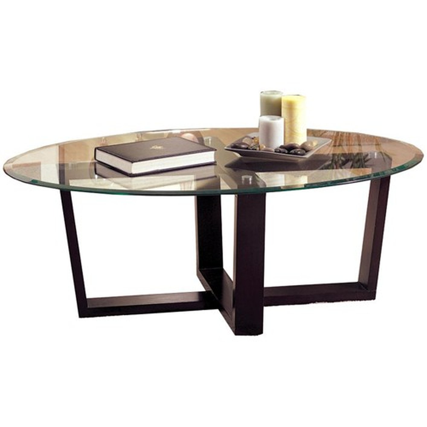 Coffee Table With Black Glass Top Alexis Black Glass Coffee Table Set Steal A Sofa