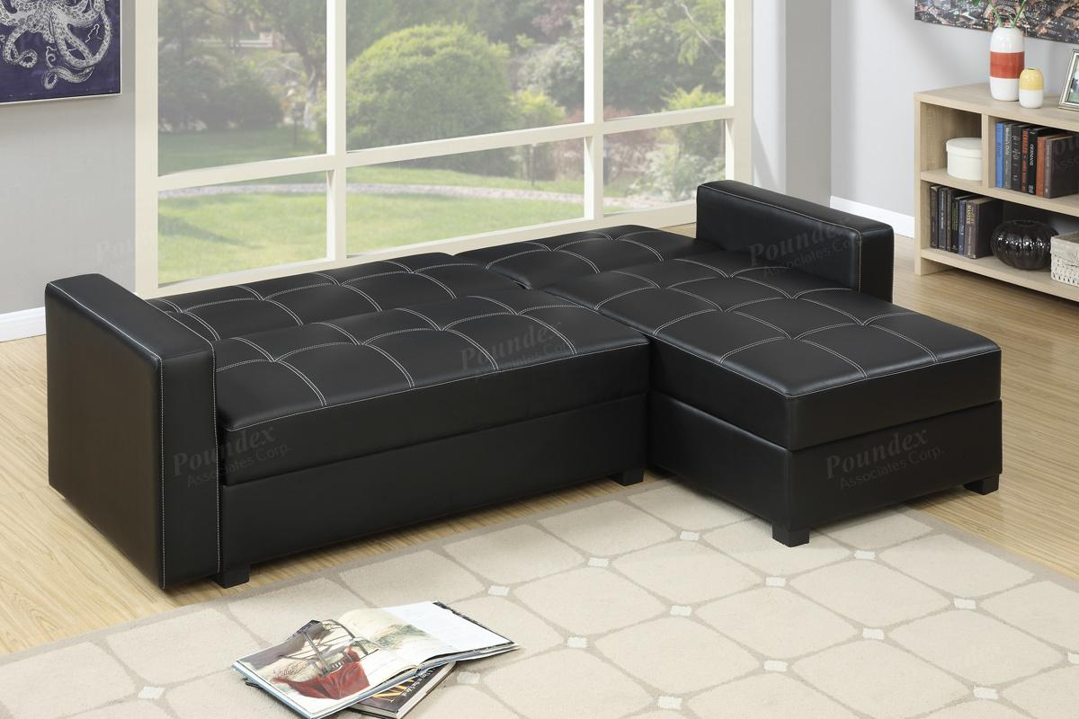 Sofabed Canada Black Leather Sectional Sofa Bed Steal A Sofa Furniture