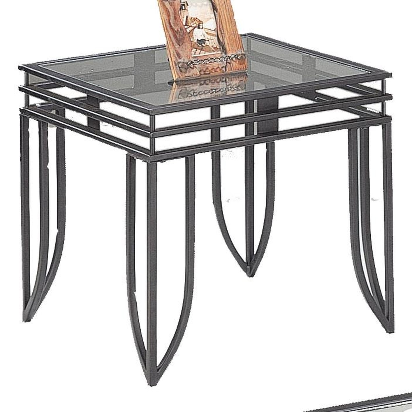 Coffee Table With Black Glass Top Black Glass Coffee Table Set Steal A Sofa Furniture