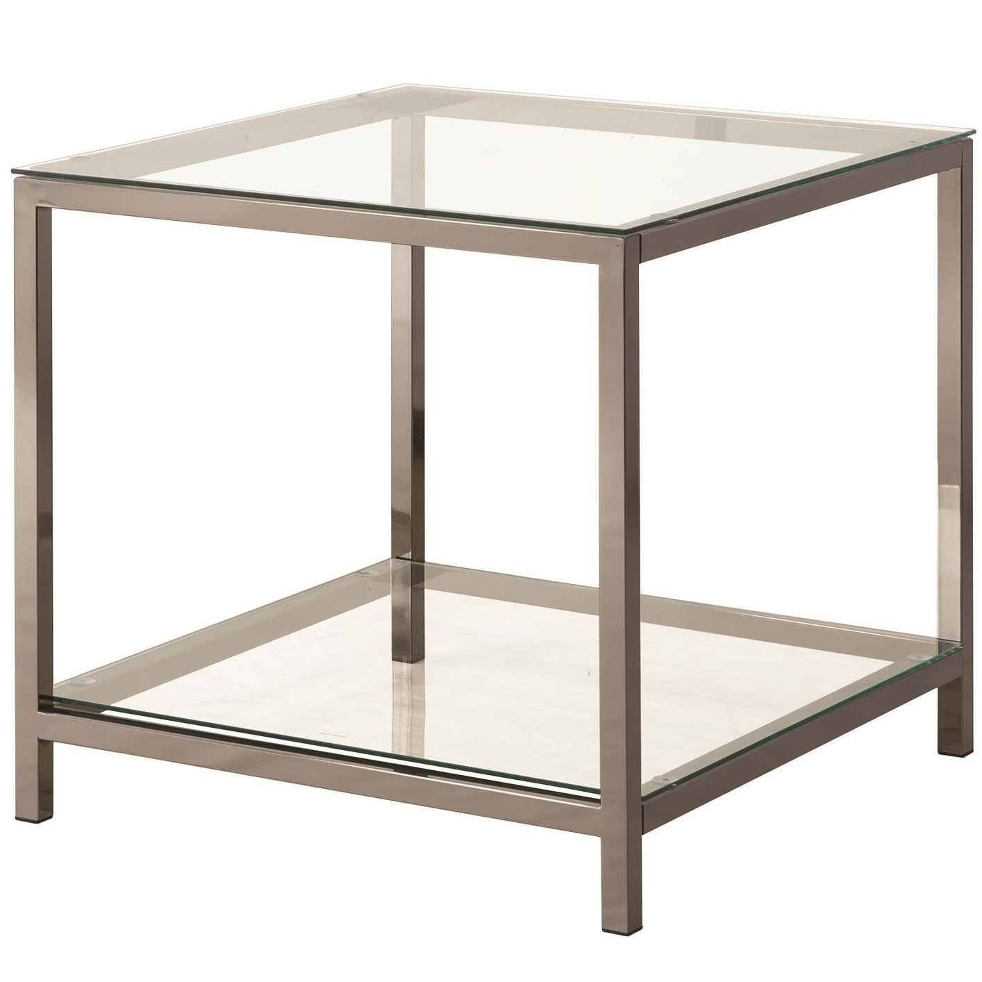 Black And Glass End Tables Diy Sofa Side Table With Glass Tops The
