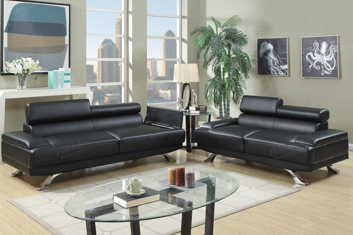 Leather Couch And Sofa Set Black Leather Sofa And Loveseat Set Bonded Leather
