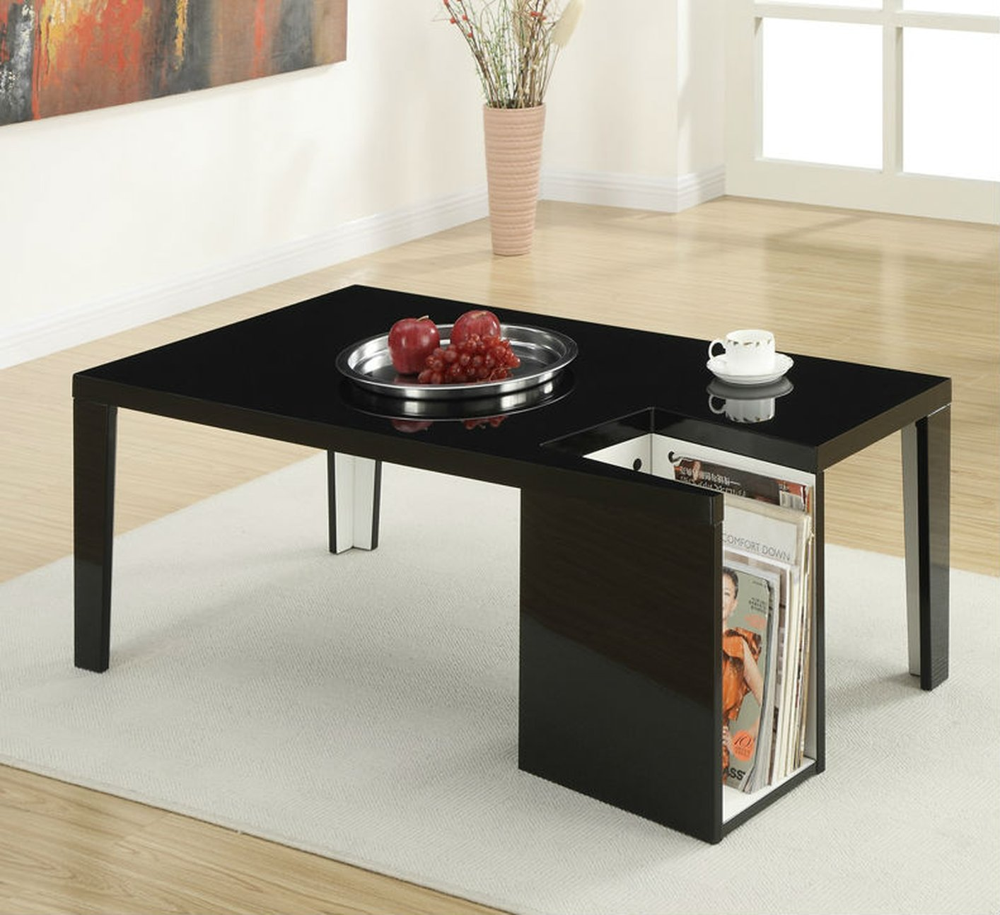 Wood Black Coffee Table Black Wood Coffee Table Steal A Sofa Furniture Outlet