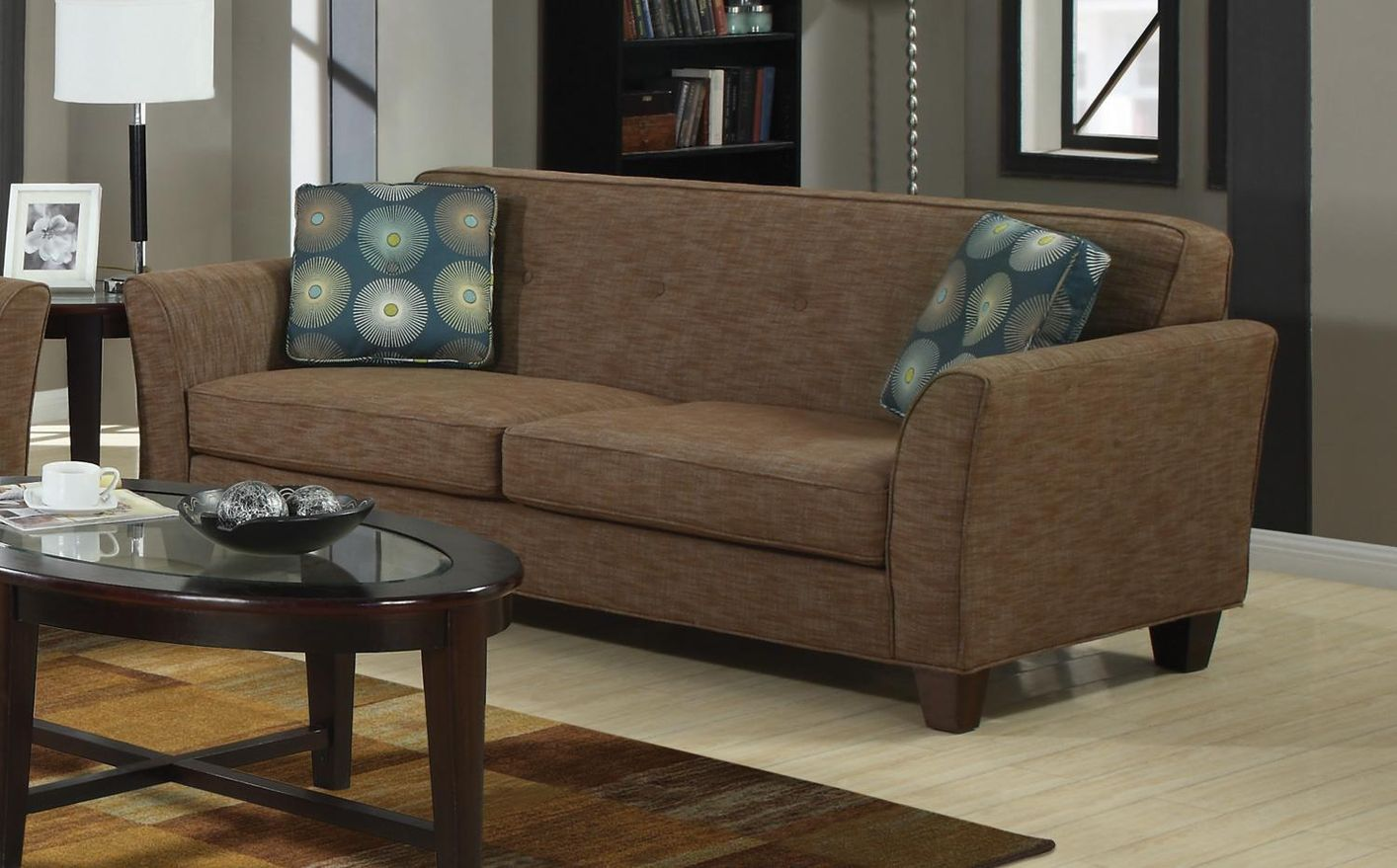 Sofas And Stuff Ronaldsay Brown Tweed Sofa Home And Textiles