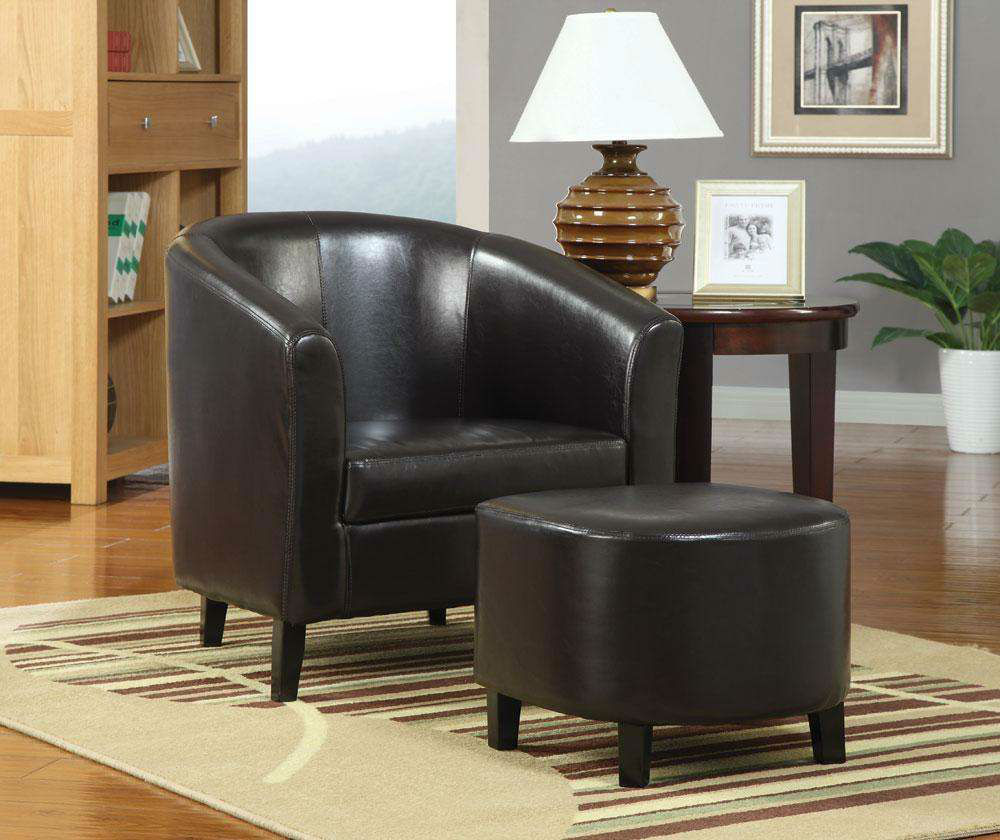 Accent Chairs To Go With Brown Leather Sofa Brown Leather Accent Chair