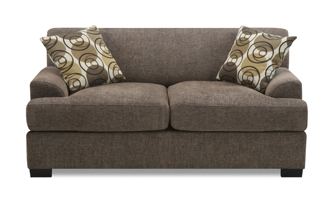 Sectional Sofas Montreal On Sale Beige Fabric Loveseat - Steal-a-sofa Furniture Outlet Los