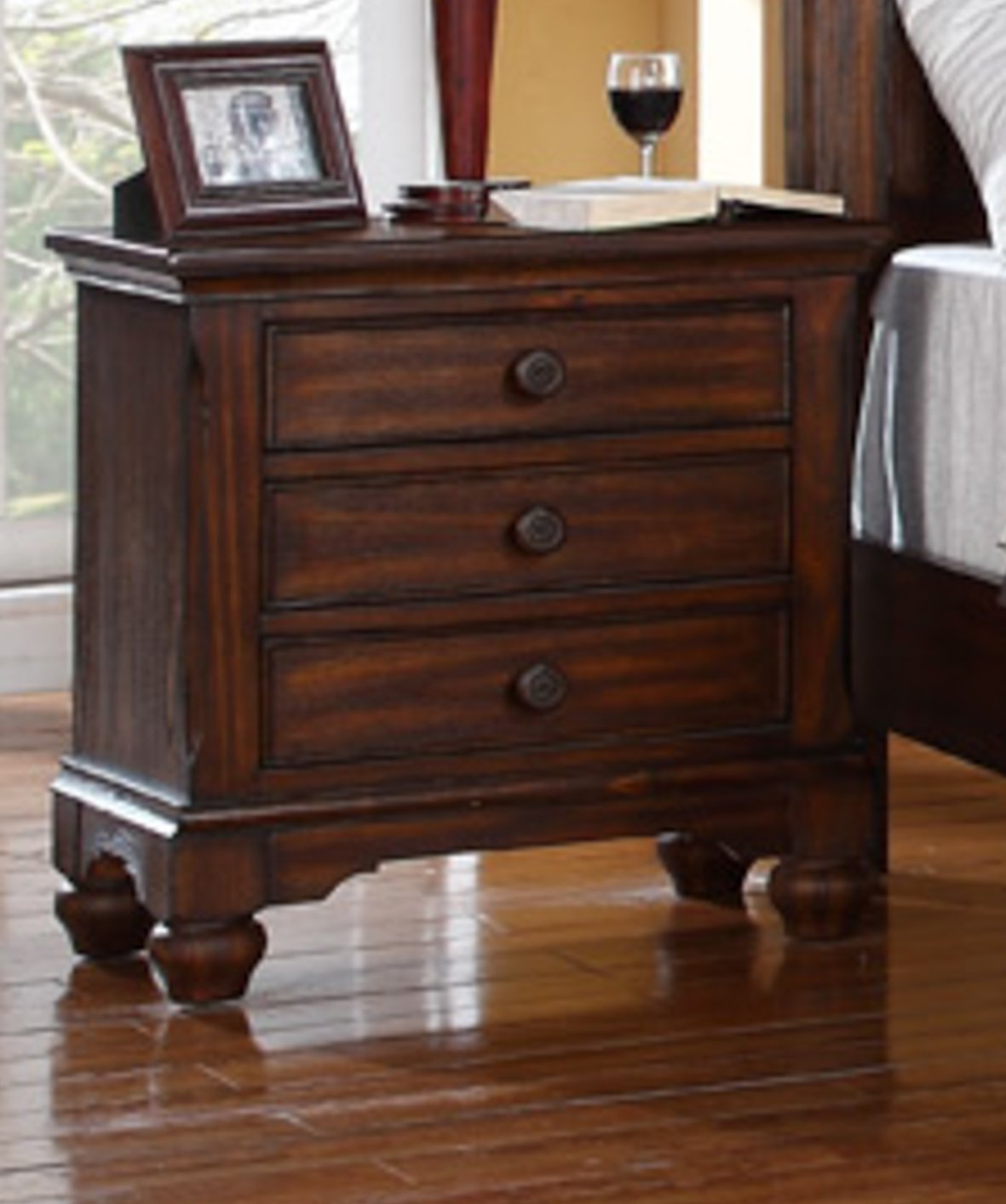 Sofa Outlet Cheshire Bahadur Nightstand