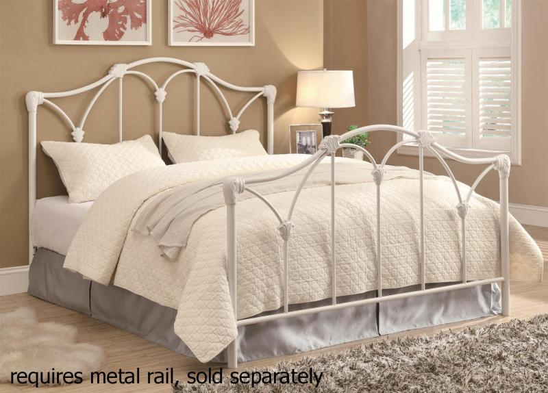 Large Of White Metal Bed Frame