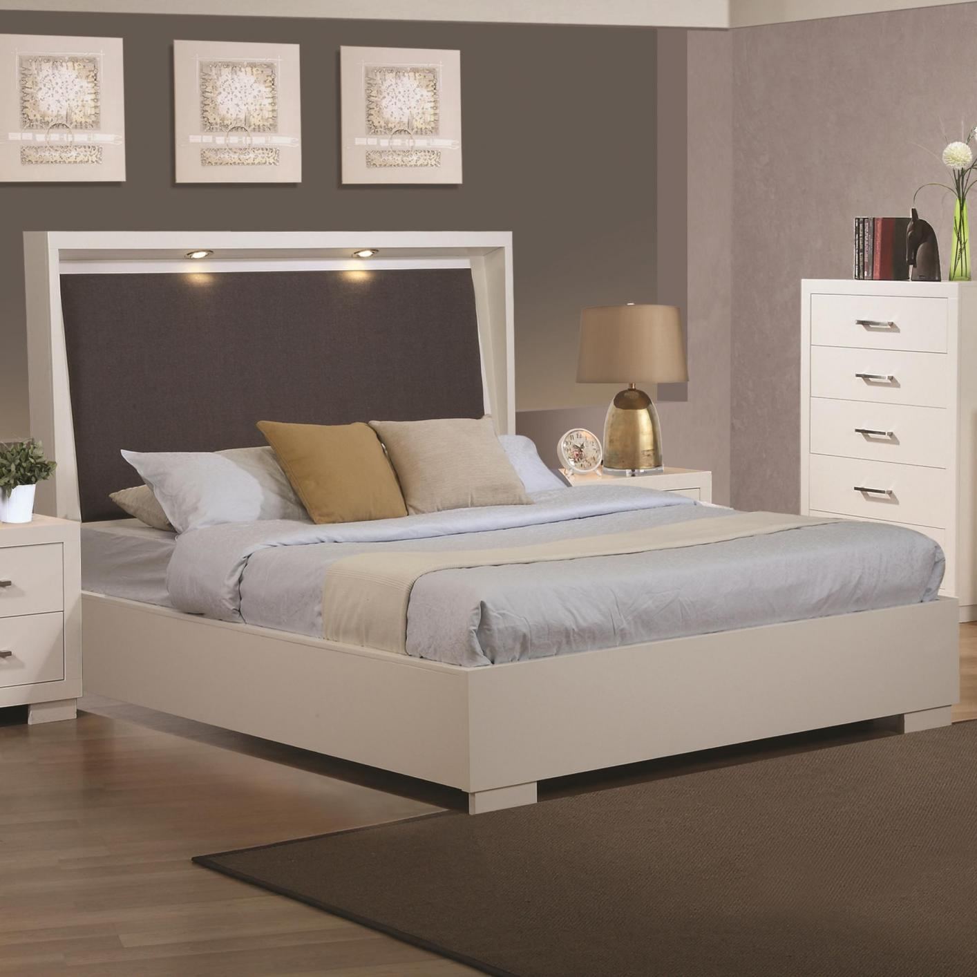 White Beds White Wood California King Size Bed Steal A Sofa