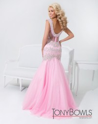 Tony Bowls 2014 Pink Light Champagne White Mint Beaded ...