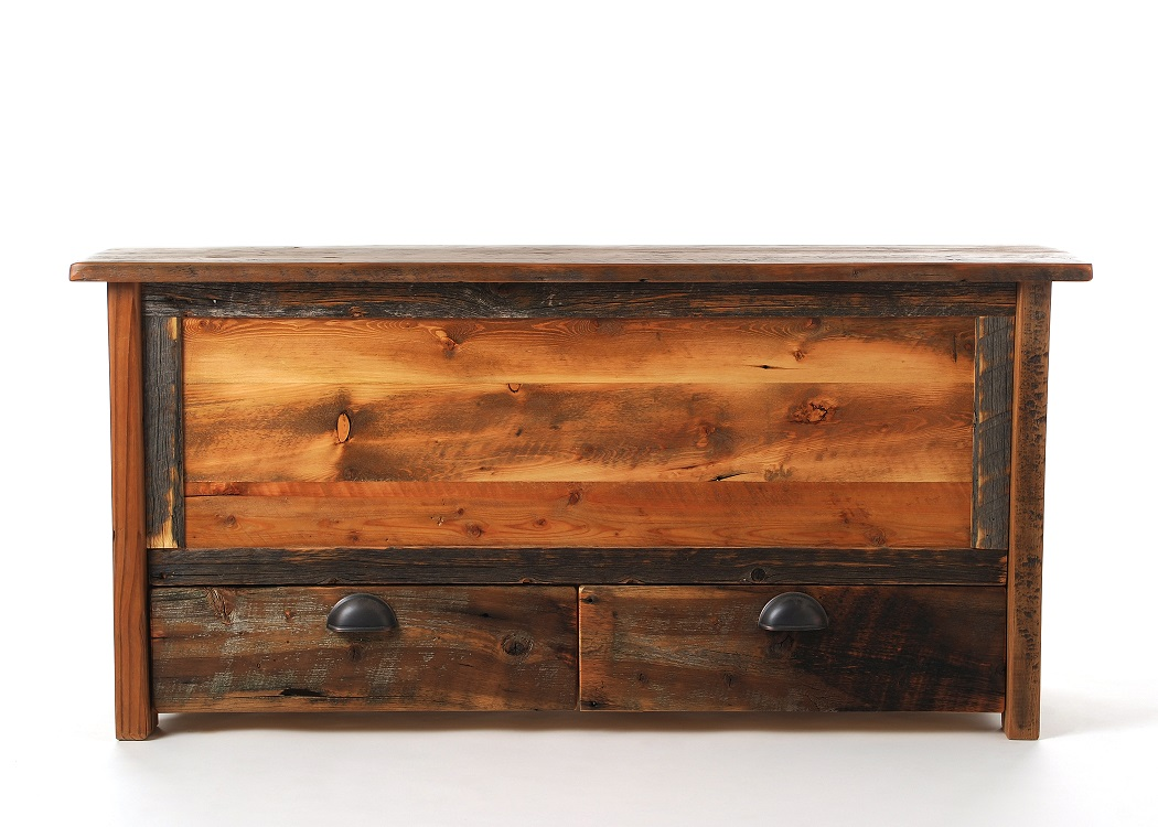 Wood Blanket Box Coonsa Creek Reclaimed Barnwood Blanket Chest With Drawers
