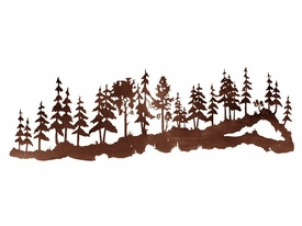 84quot Large Pine Tree Forest Metal Wall Art Nature Wall Decor