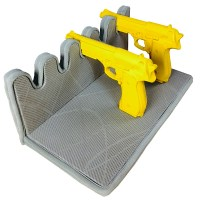 Five-Gun Padded Pistol Holder for Your Gun Safe - Stealth ...